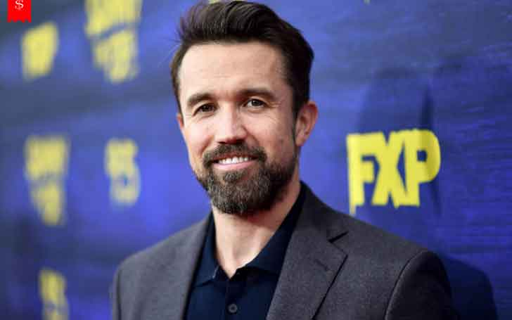 41 Years Hollywood Actor Rob McElhenney's Tattoos looks Fantastic; Owns High Figure of Net Worth
