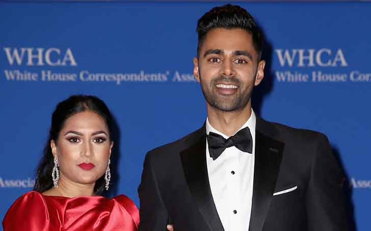 33 Years Old American Comedian Hasan Minhaj' Married Relationship With Wife Beena Patel