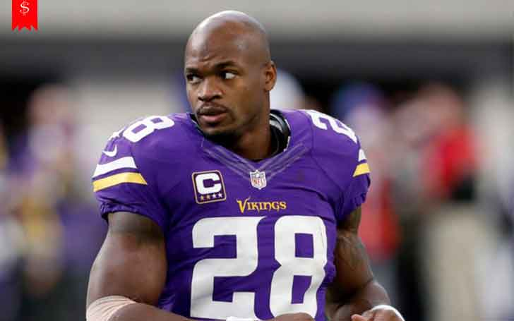 NFL Player Adrian Peterson's Overall Net Worth: His Career So Far And Sources of Income