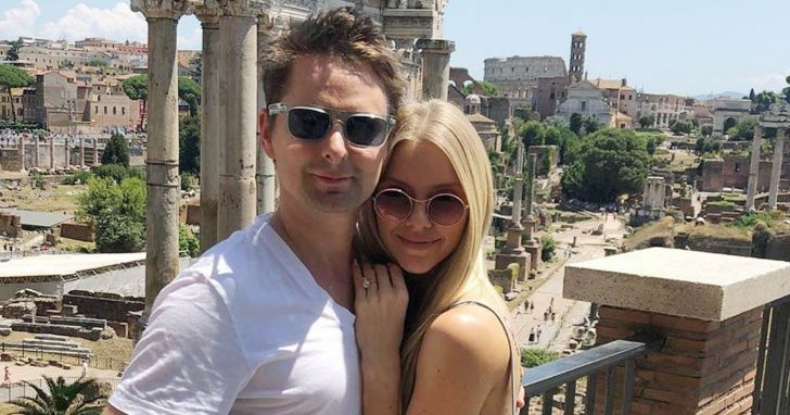 Congratulations!!!! American Singer Matt Bellamy Is Expecting First Baby With Wife Elle Evans