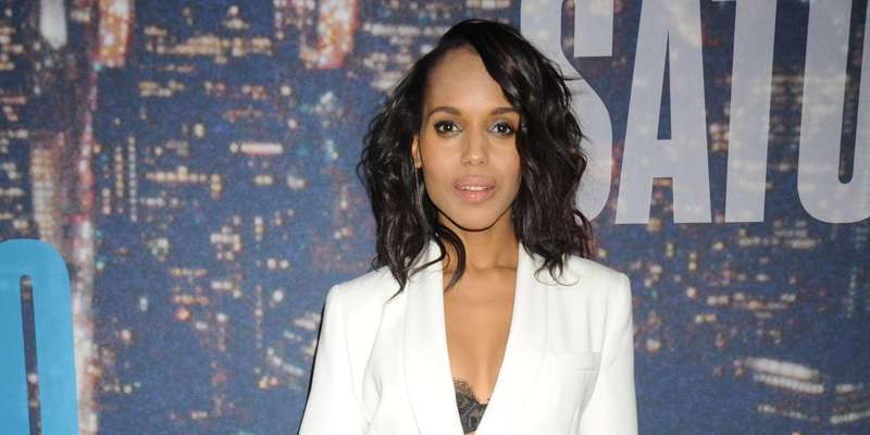 Kerry Washington speaks about her marriage and her new movie Confirmation
