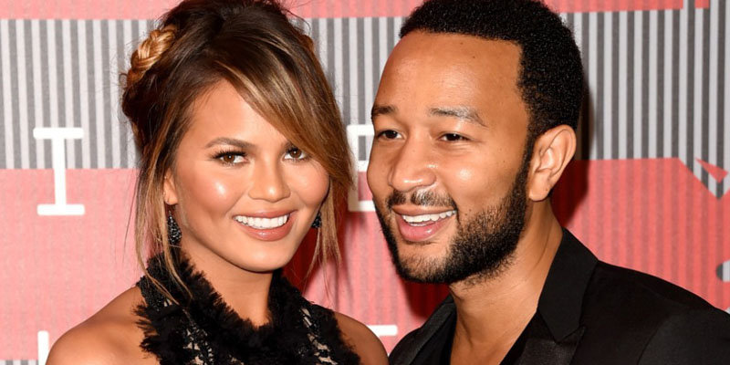 Chrissy Teigen and John legend share photo of their newborn child Luna