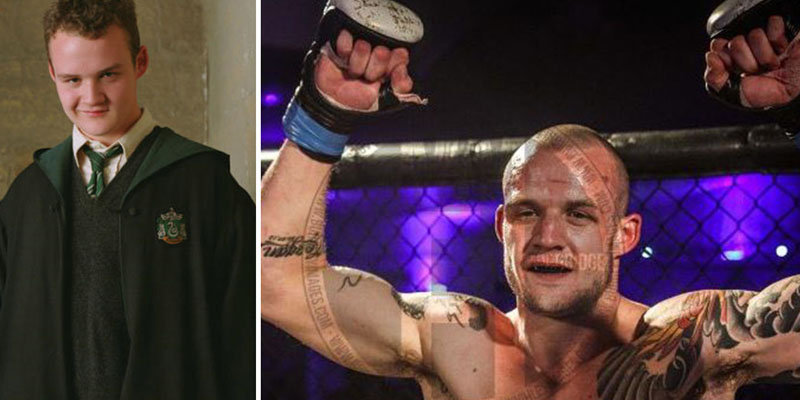 Harry Potter bad guy Josh Herdman now a mixed martial arts fighter