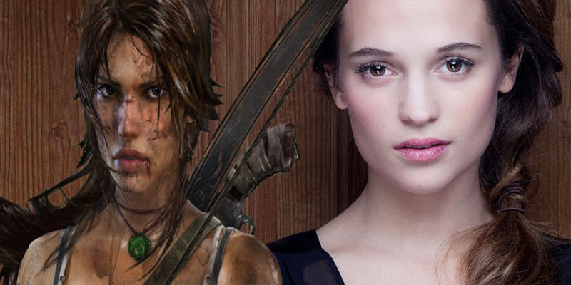 Alicia Vikander the next Lara Croft in Tomb Raider as she follows the footsteps of Angelina Jolie