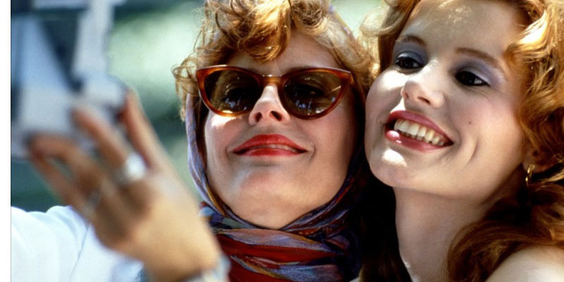 Geena Davis on Thelma & Louise's co-star Susan Sarandon: I was in awe of her. She is still my hero