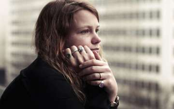 Kate Tempest appears for an interview post her new novel 'The Bricks That Built The Houses' release