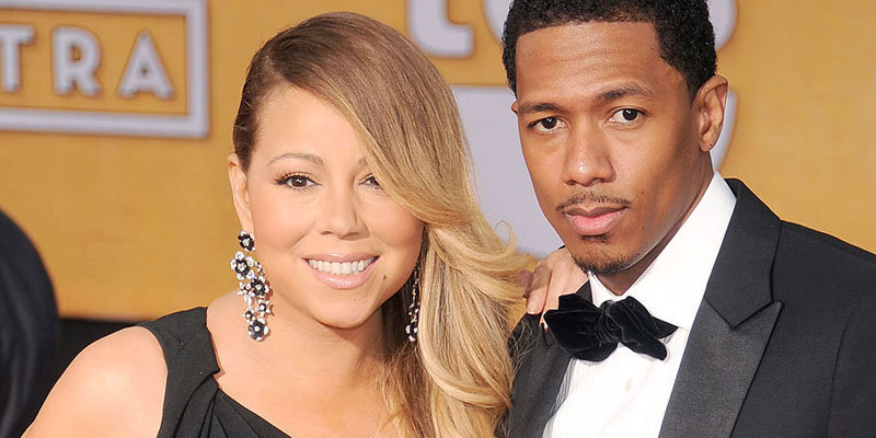 Former husband and wife couple; Nick Cannon and Mariah Carey