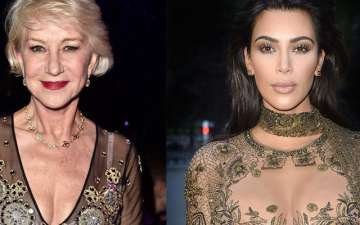 Helen Mirren a fan of Kim Kardashian for making curves and big booty more accepted