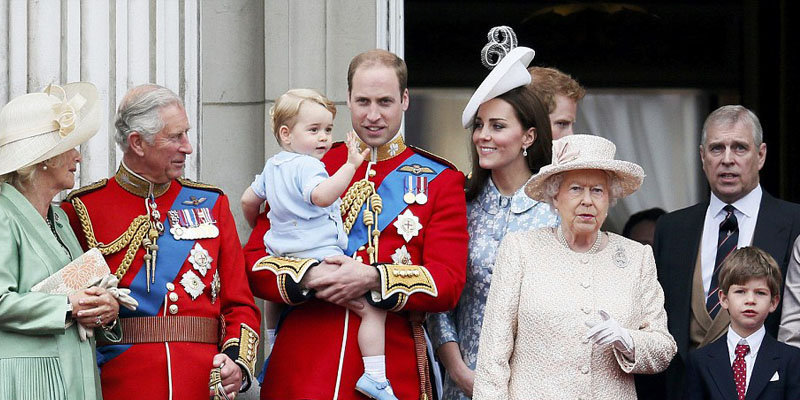 Prince George excited to troop the colour as he makes his second ever balcony appearance