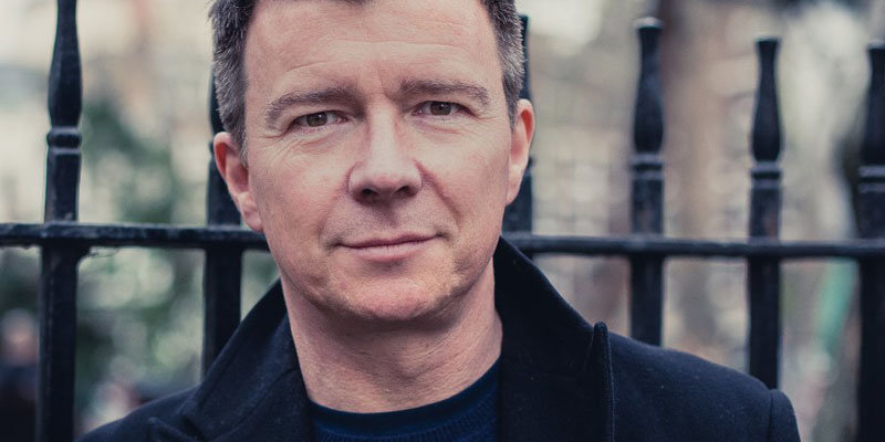 Better late than never as Rick Astley's new album '50' hits No 1 on the U.K. charts after 29 years