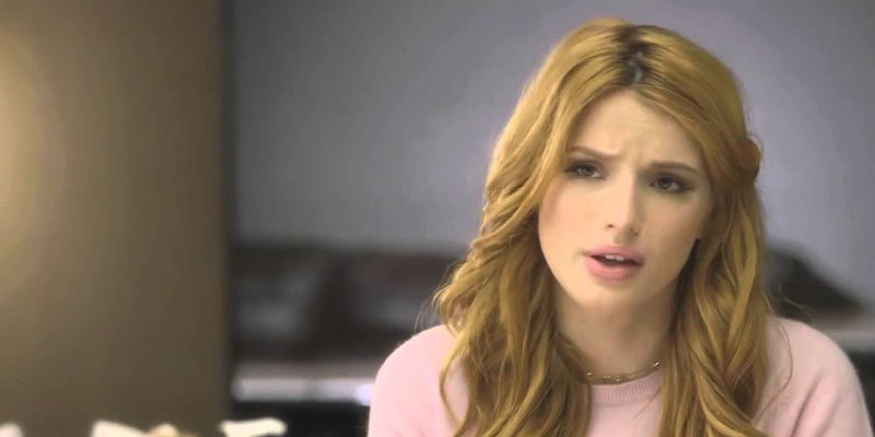 Bella Thorne chooses happiness over health as she ignores skin doctor's food advice to be 'happy'