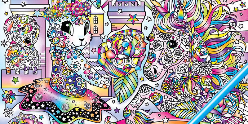 American Businesswoman Lisa Frank Announces On Instagram The Release Of Her Adult Coloring Book