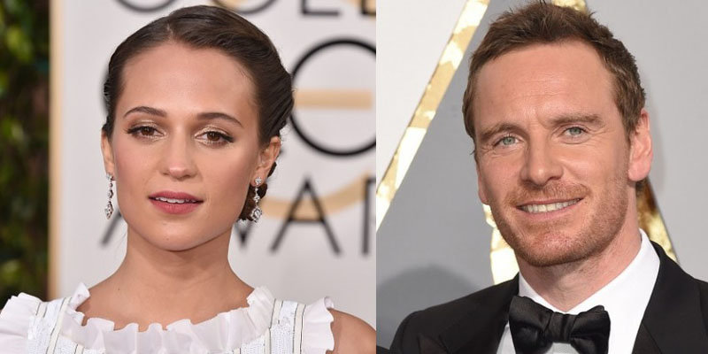 Alicia Vikander and Michael Fassbender open up about playing husband and wife in upcoming movie