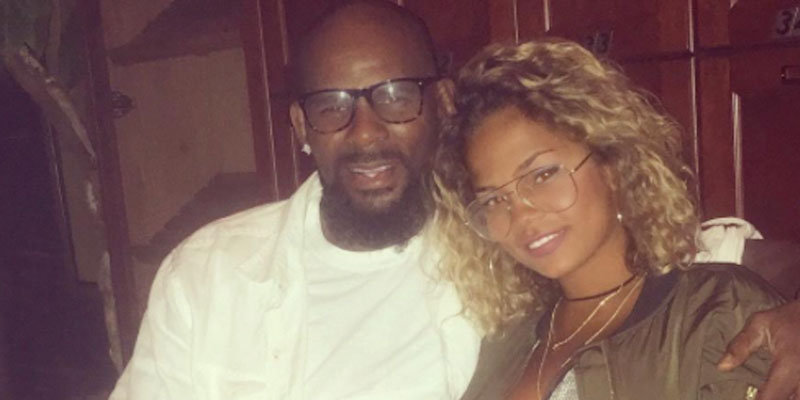 R. Kelly has new girlfriend: 19-year-old model, Halle Calhoun, and he allegedly wants to marry her