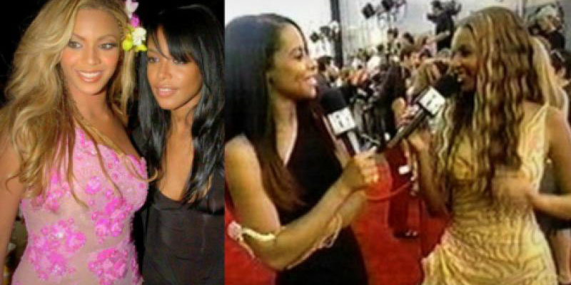 Beyonce pays tribute to late R&B singer Aaliyah on the occasion of Aaliyah's 15th death anniversary