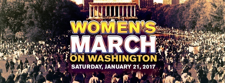 Women March on Washington; a day after Donald Trump takes his swear