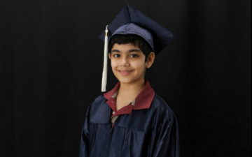 Tanishq Abraham Is possibly the youngest College graduate. Know All His accomplishments at age 12