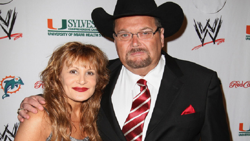 Jim Ross widower after a fatal car crash, wife Jan died in a car accident four days ago