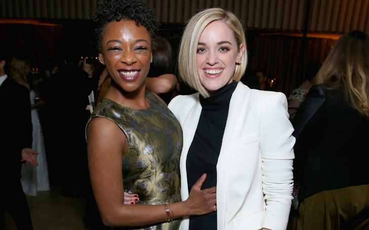 Lesbian's Love: Orange Is the New Black Star Samira Wiley Marries Lauren Morelli, Shares Wedding Pic