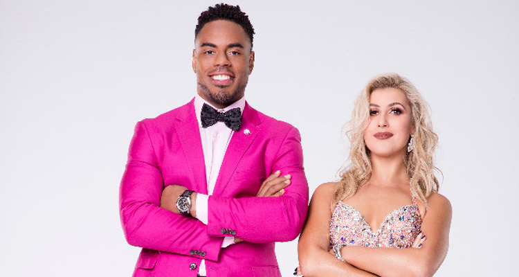 Rashad Jennings and Emma Slater Set The Dancing With The Stars stage on Fire with Evermore