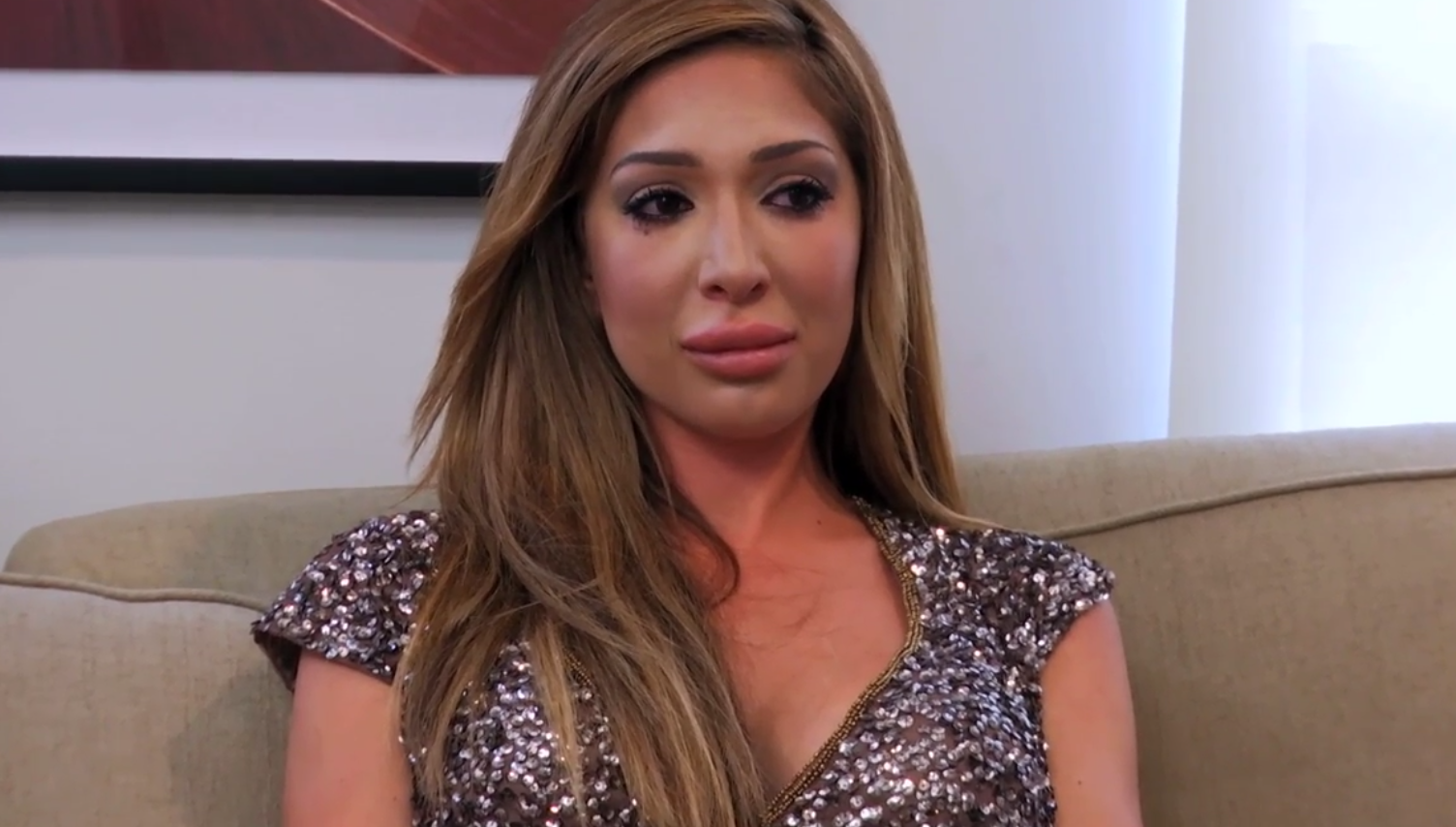 Teen Mom OG's Farrah Abraham In Tears After Confronting Her Mom