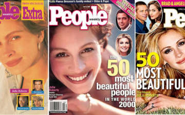 Pretty Woman Julia Roberts is fifth time People's most beautiful woman in the World