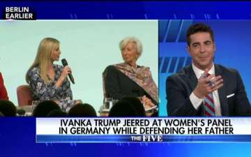 Jesse Watters explains Ivanka Trump Comment via Twitter and calls his Comment Completely Non-Sexual
