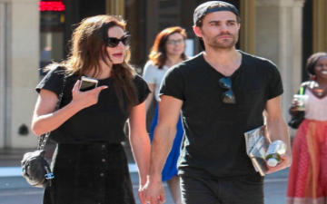 Paul Wesley and Phoebe Tonkin spotted hanging out again, are they back together again?