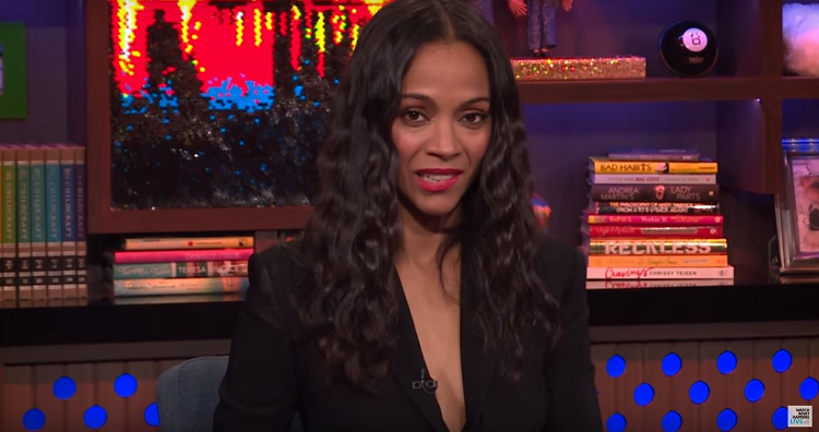 Zoe Saldana recalls how Britney Spears accidentally outed her pregnancy two years ago