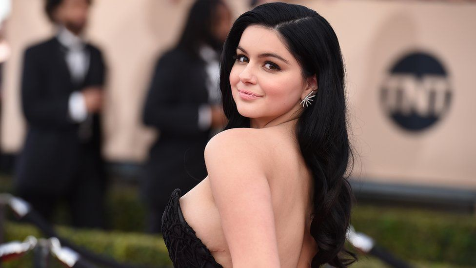 American Actress Ariel Winter Sexy In a Silver Dress With Her Boyfriend, See Her Daring Sexy Moves
