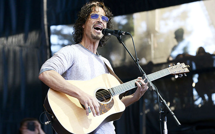 IMG CHRIS CORNELL, Soundgarden and Audioslave Singer