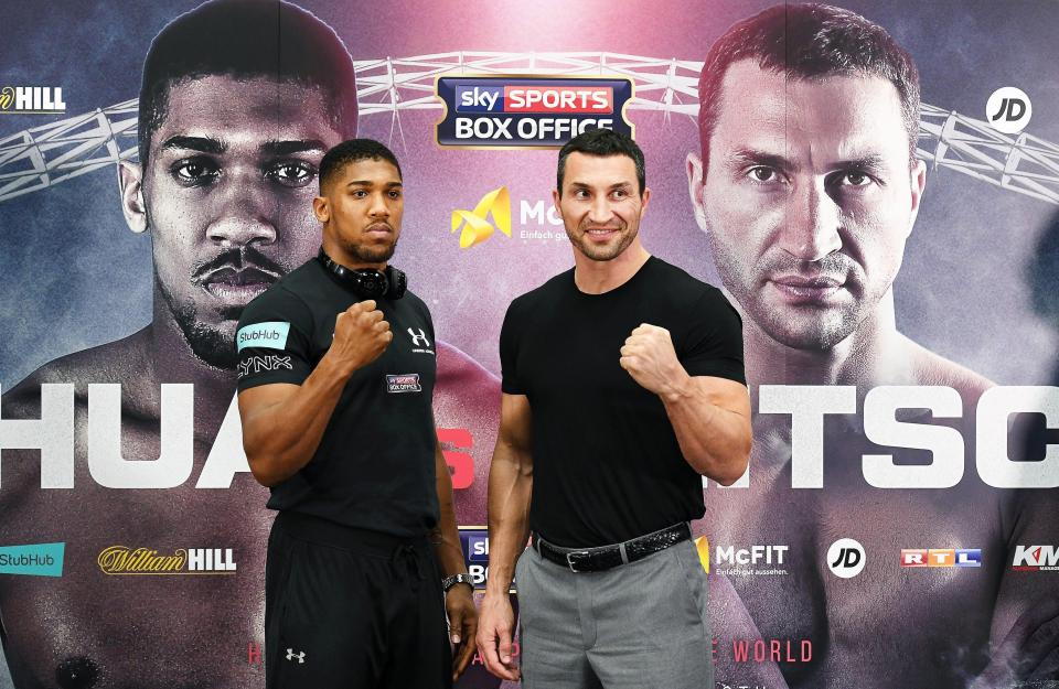 Anthony Joshua Challenges Wladimir Klitschko, Says He Should Fight Me Again