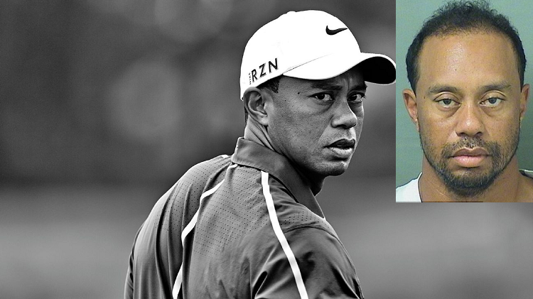 Tiger Woods was held up in Cell for an hour in Florida After being Arrested in for DUI