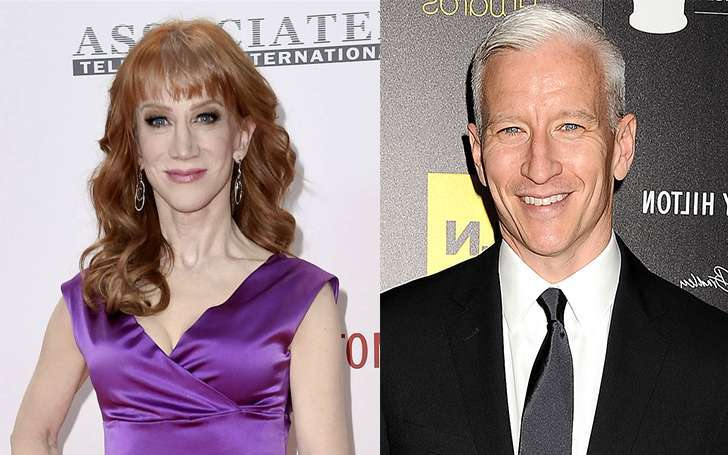 Kathy Griffin disappointed with Anderson Cooper after being fired from CNN for Trump-Head Shoot