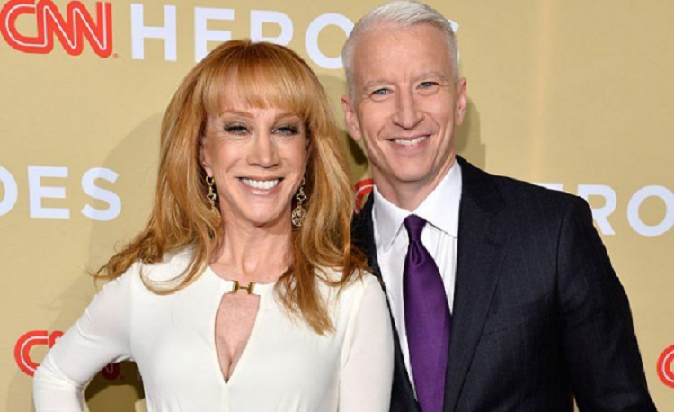 Anderson Cooper finally speaks on Kathy Griffin's issue after Trump Photo Scandal