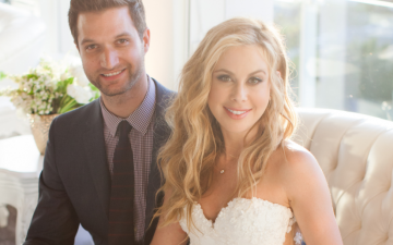 Tara Lipinski walks down the aisle, says 'I do' to Todd Kapostasy