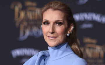 Celine Dion poses completely Naked in a photograph For Vogue Magazine