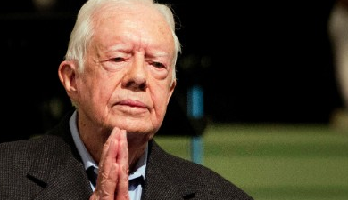 'Get Well Soon' Messages for Jimmy Carter flood the Internet
