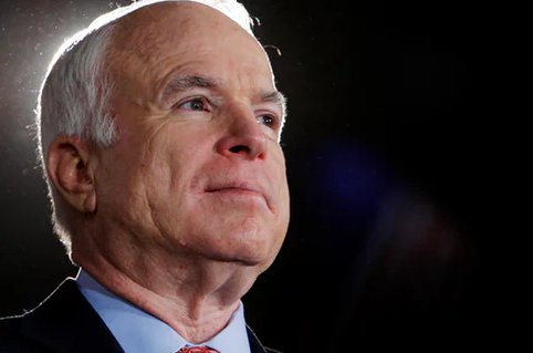 Arizona Senator John Mccain Diagnosed with Brain Cancer
