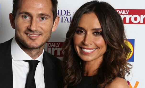 Frank Lampard with Christine Bleakley, Public Display of Affection on a Luxury Yacht