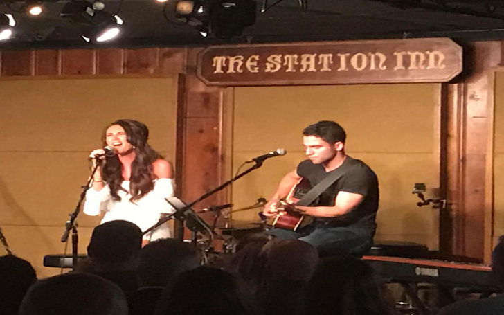 Megan McKenna performed in Nashville as she wraps new show There's Something About Megan