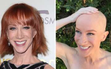 Comedian Kathy Griffin Shaved Her Head To Support Her Cancer Patient Sister
