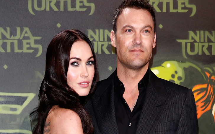 For The First Time, Megan Fox shared rare photo of her three sons