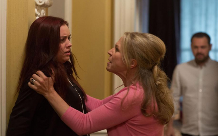 EastEnders Today: Linda Carter attacks Whitney after Mick confesses about their romance