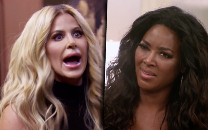 Kim Zolciak Posts CRUEL Comment On Kenya Moore's Husband Marc Daly's Birthday via Instagram,