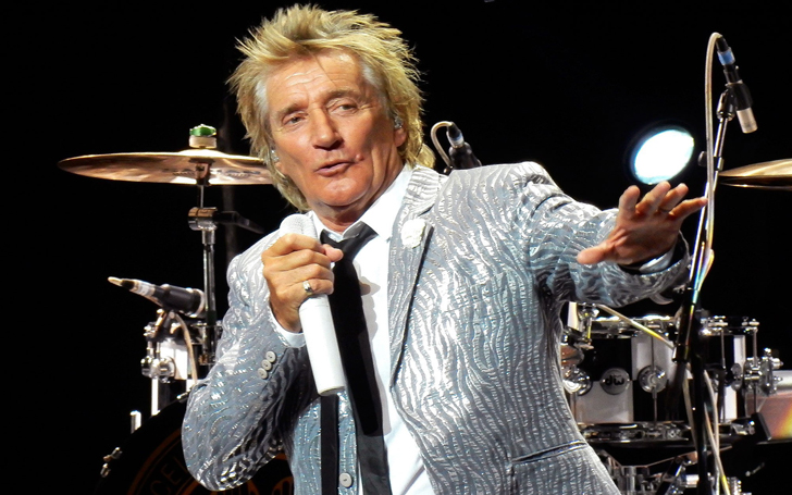 Legendary British Rock Singer Rod Stewart Dazzles With DNCE on