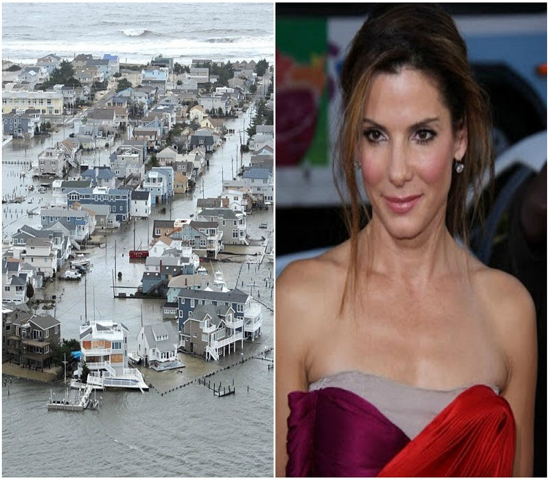 Sandra Bullock donates $1M to Harvey relief efforts; Joins Kevin Hart, Dwayne Johnson and more
