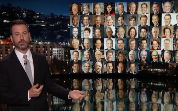 Jimmy Kimmel Breaks Out On Las Vegas Shooting to Champion Gun Laws In An Emotional Monologue