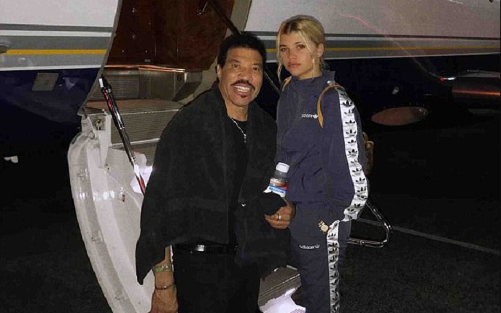 Lionel Richie Responses To His Daughter Sofia Richie Dating New Boyfriend Scott Disick