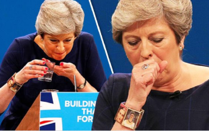 Theresa May Attacked For Wearing Bracelet Decorated With Renowned Communist Frida Kahlo
